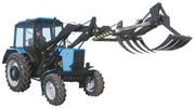 Сменные вилы грейферные ГРД-1, 5 на погрузчик трактора