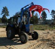 Бревнозахват ПФН-294 на погрузчик трактора