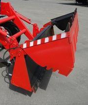 Сменный челюстной ковш ПФН-263 на V=0, 55 м3 для погрузчика трактора