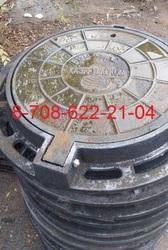 Люки чугунные Казахтелеком с шарниром Тип Л ГОСТ 8591-76