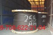 Стальной трос типа ТК в 133 проволоки с металлическим сердечником (ГОС