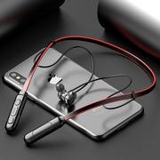 Беспроводные Bluetooth шейные наушники которые сложно потерять или сло