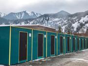 Жилые утепленные 20, 40 футовые контейнеры в Алматы.