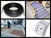 Греющий кабель для обогрева уличных площадок и лестниц