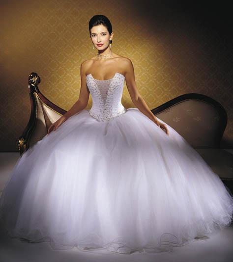дорогие и шикарные свадебные платья
